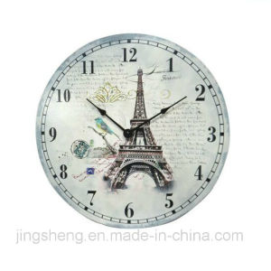 30cm Wooden Wall Clock & Printing Wall Clock pictures & photos