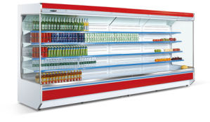 Wholesale Open Refrigerator Supermarket Showcase Cooler pictures & photos