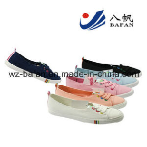 Women′s Canvas Sheos Casual Shoes pictures & photos
