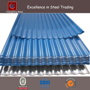 Prepainted Galvanized Corrugated Plate with Roofing Sheet (CZ-CP18) pictures & photos