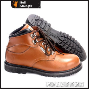 Industrial Geniune Leather Safety Boots with Rubber Sole (SN5392) pictures & photos