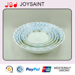 Opal Glass 8′soup Plate pictures & photos