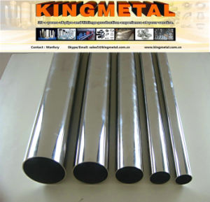 A270 316L Brightness Inox Welded Steel Pipe for Fluid Transport pictures & photos