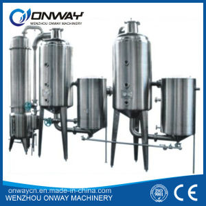 WZD High efficient factory price stainless steel vacuum evaporator pictures & photos