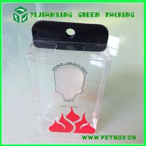 Clear PVC Plastic Tuck Top Packaging Display Gift Boxes