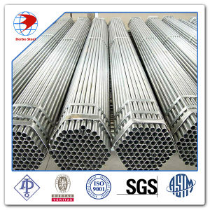 "A53 Steel Pipe, 1/2"" PE End Schedule 40 Galvanized Steel Pipe pictures & photos"