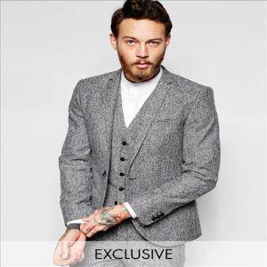 2016 Men′s Suit Jacket Style Long Woolen Winter Jackets pictures & photos