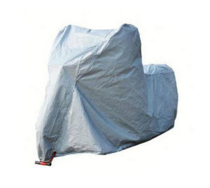 New Silver Coating Polyester Bike Cover pictures & photos