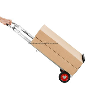 Lightweight Foldable Aluminum Luggage Hand Trolley pictures & photos