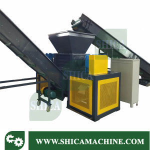 Double Shaft Shredder for Waste Tyre, Plastic and Rubber pictures & photos