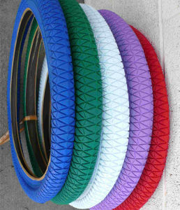 Hot Sell Colored Kids Bike Tire (12X2.125, 16X 2.125, 20X 2.125) pictures & photos