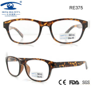 Fashionable Plastic Reading Glasses for Woman Man (RE375) pictures & photos