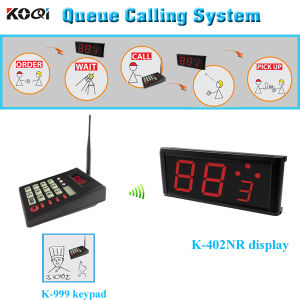 Queue Calling System Queue Machine for Restaurant Good-Operation CE Passed Smart Kitchen Equipment pictures & photos