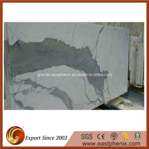 Italy Calacatte White Marble Tile for Slab, Wall/Countertop/Vanity Top pictures & photos