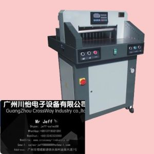 Paper Cutting Machine 670 with Program Control Hydraulic Guillotine