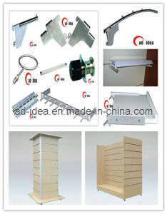 Slatwall Bracket, Slat Wall Panels pictures & photos