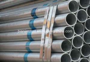 Dn20X1.7mm ERW Galvalized Steel Pipe