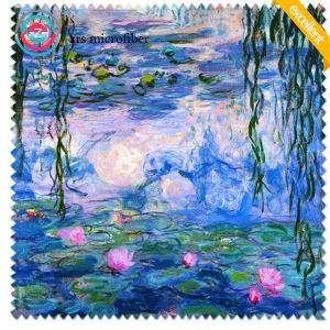 2017 New Silk-Screen Printed Microfiber Cleaning Cloth pictures & photos