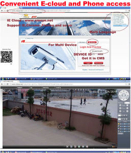 200m IR 5.0 Megapixel IP PTZ CCTV Dome Camera pictures & photos