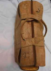 Cork Handbag, Cork Leather Ladies Handbags with Shoes Bag (BD12) pictures & photos