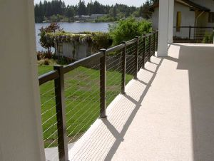 Stainless Steel Cable Railing for Outdoor pictures & photos