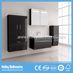 Hot LED Light Touch Switch High-Gloss Paint Furniture Bathroom Furniture (B916P) pictures & photos