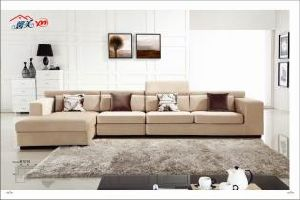 Living Room Fabric Corner Sectional Sofa with Armrest Lb1016 pictures & photos