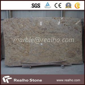 Good Price Emerald Pearl Granite /Black Galaxy/Absolute Black Granite Slab for Kitchen Countertop, Island Top pictures & photos