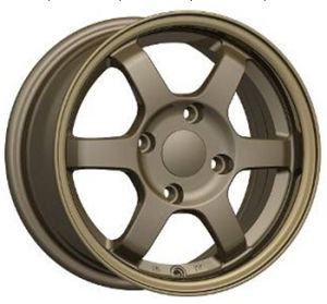 Bronze Wheel Rim, 14 Inch Te37 Alloy Wheel pictures & photos