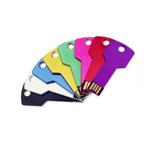 Key Shape USB Flash Drive Different Color Free Customized Logo pictures & photos