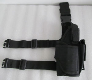 Police Tactical Thigh Gun Pistol Holster pictures & photos