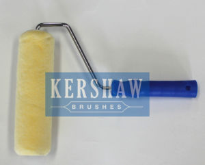014 Paint Roller (Clear Yellow With Long Plastic Handle) pictures & photos