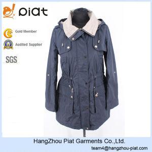 2016 High Quality Womens Hooded Long Coat Windbreaker Jacket