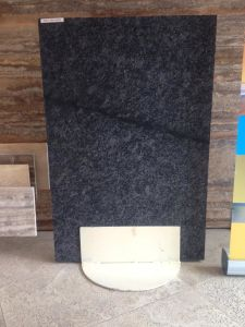 Popular Steel Grey Granite Tiles and Slabs pictures & photos