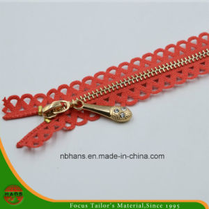 3# Non-Lock Closed-End Brass Zipper (HAZB0002) pictures & photos