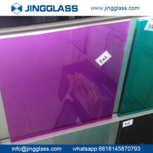 Colorful Digital Ceramic Frit Flat Sheet Glass Panes Tempered Children Hospital pictures & photos