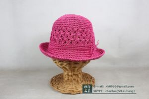 Paper Straw Hat for Kids (XH-PA2132) pictures & photos