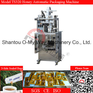 Honey Packing Machine 3 Side Seal Vertical Form Fill Seal Bagger Machine pictures & photos