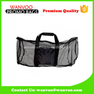 Visible Black Beach Mesh Tote Bag for Lady pictures & photos