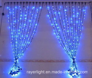 LED Curtain Lights Christmas Outdoor Lights for Holiday Home Decoration pictures & photos
