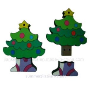 Christmas Tree USB Flash Memory with Logo Print (414) pictures & photos