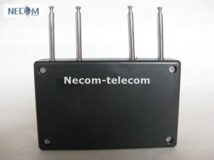 Remote Control Jammer/Cell Signal Jammer /Cell Phone Jammer for Car, Portable Quad Band RF Jammer (310MHz/ 315MHz/ 390MHz/433MHz) pictures & photos
