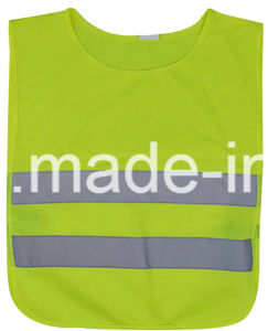 Children Safety Vest with High Reflective Grade Tc Fabric pictures & photos