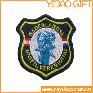 High Quality Woven Fabric Embroidered Patches for Events (YB-e-031) pictures & photos