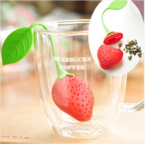Strawberry-Shaped Silicone Tea Infuser Selling Product pictures & photos