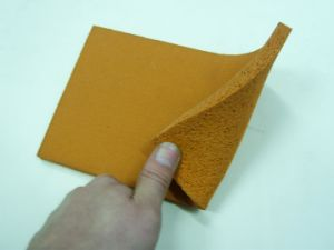 Silicone Sponge Rubber Sheet, Silicone Foam Rubber Sheet for Ironning Table with Dark Red, Grey Blue, Yellow Color pictures & photos