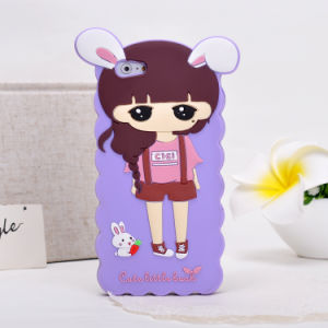 3D Cartoon Silicon Phone Case for iPhone 7 7plus Oppo R9s A35 A37 A59 Phone Accessories pictures & photos