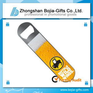 Stainless Steel Bottle Opener with Printing Logo (BG-BD859)