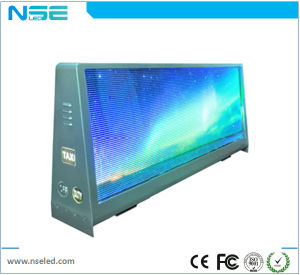 Taxi Top LED Display Outdoor P2.5 P5 with 3D Performance pictures & photos
