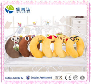 2016 New Style Toy Plush Emoji Cartoon Neck Pillow pictures & photos